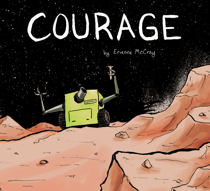 Courage pg 1