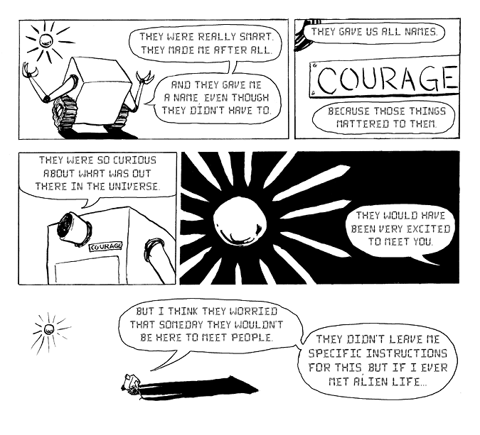 Courage courage pg 20